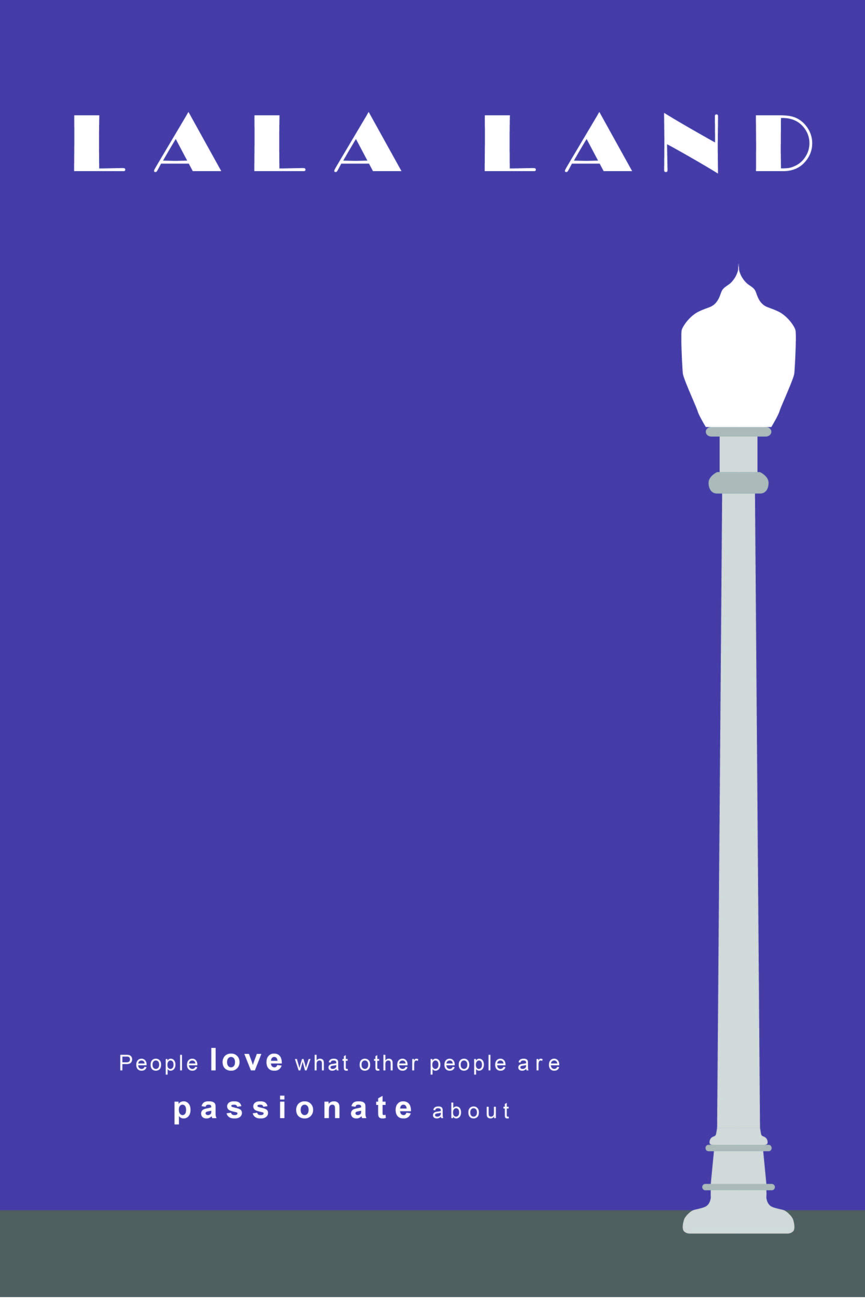Lala Land 2016 Movie Minimalist Poster In 2019 La La Land