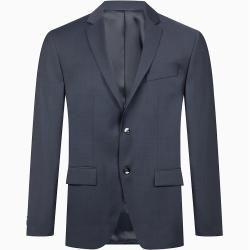 Calvin Klein Taillierter Wollstruktur-Blazer 52 Calvin KleinCalvin Klein