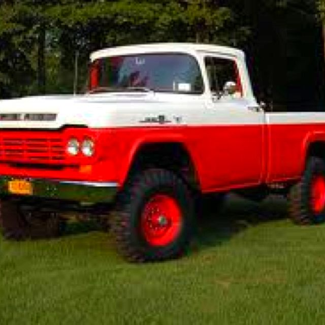 1959 F350 First Year Ford Did A 4x4 Vintage Pickup Trucks Ford