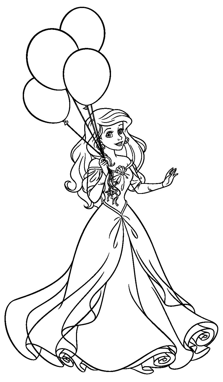 Colora le principesse Disney | Boyama sayfaları | Pinterest ...