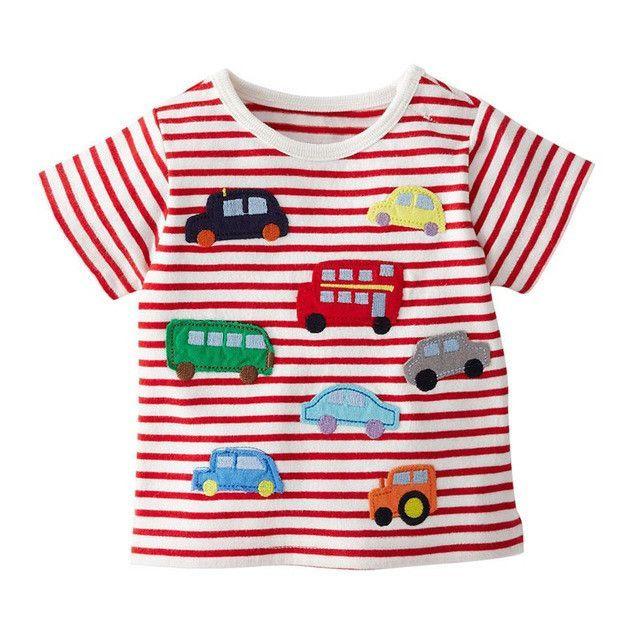 cf75dc62c53d Children s Kids Grils boys t-shirt Baby Clothing Little boy Summer shirt  Tees Designer Cotton Cartoon for 1-6Y