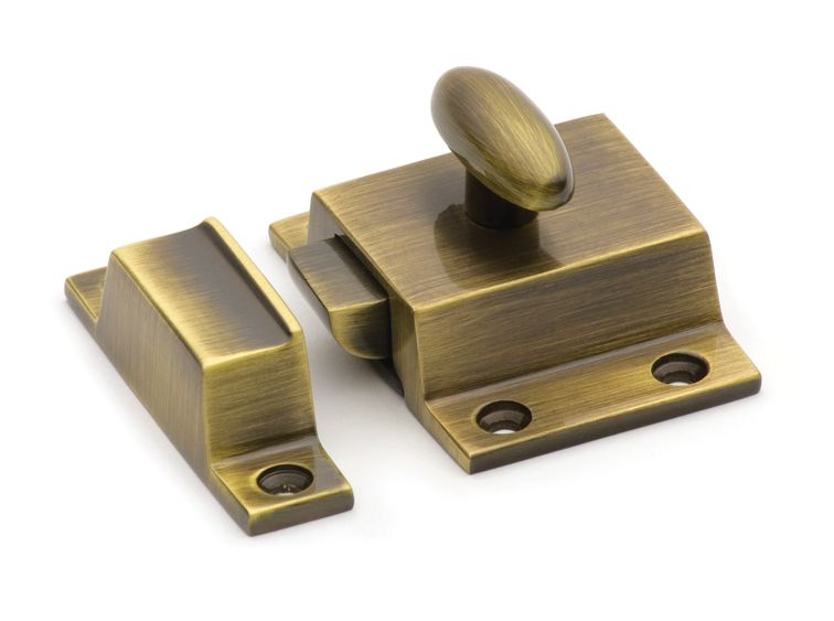 This Antique Brass Finish Surface Mount Cupboard Turn Latch From Cliffside  Industries Is An Elegant, And Functional, Adornment For Use On Furniture Or  Inset ...