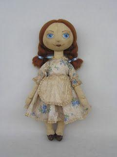 МК чердачной куклы - Ярмарка Мастеров - ручная работа, handmade