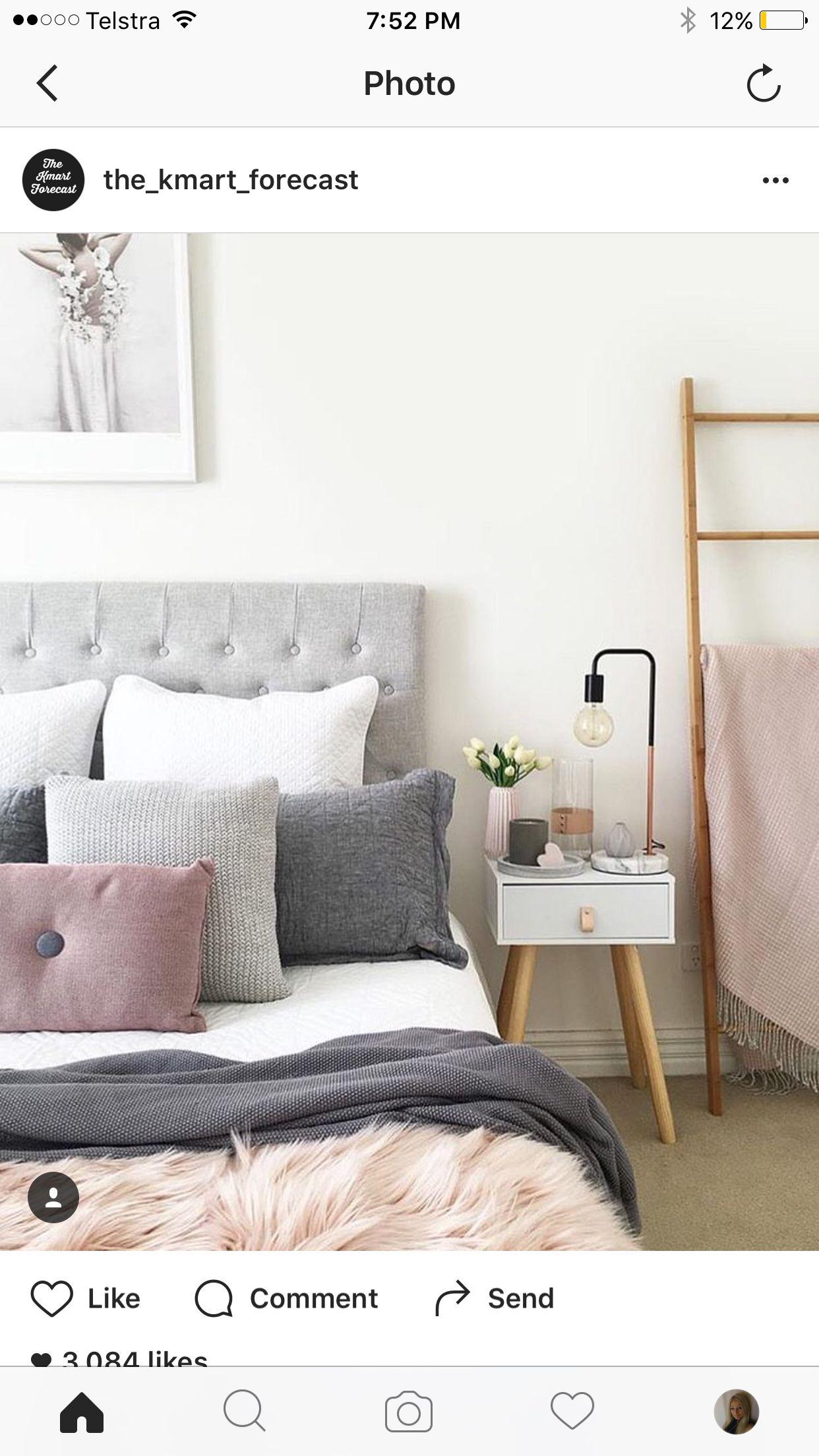 Kmart styling  bedrooms en 2019  Home decor Kmart home