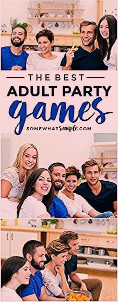 Photo of The 11 BEST Adult Party Games | Somewhat Simple