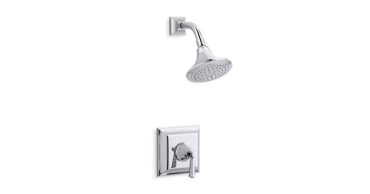 K Ts462 4s Memoirs Stately Rite Temp Shower Valve Trim With