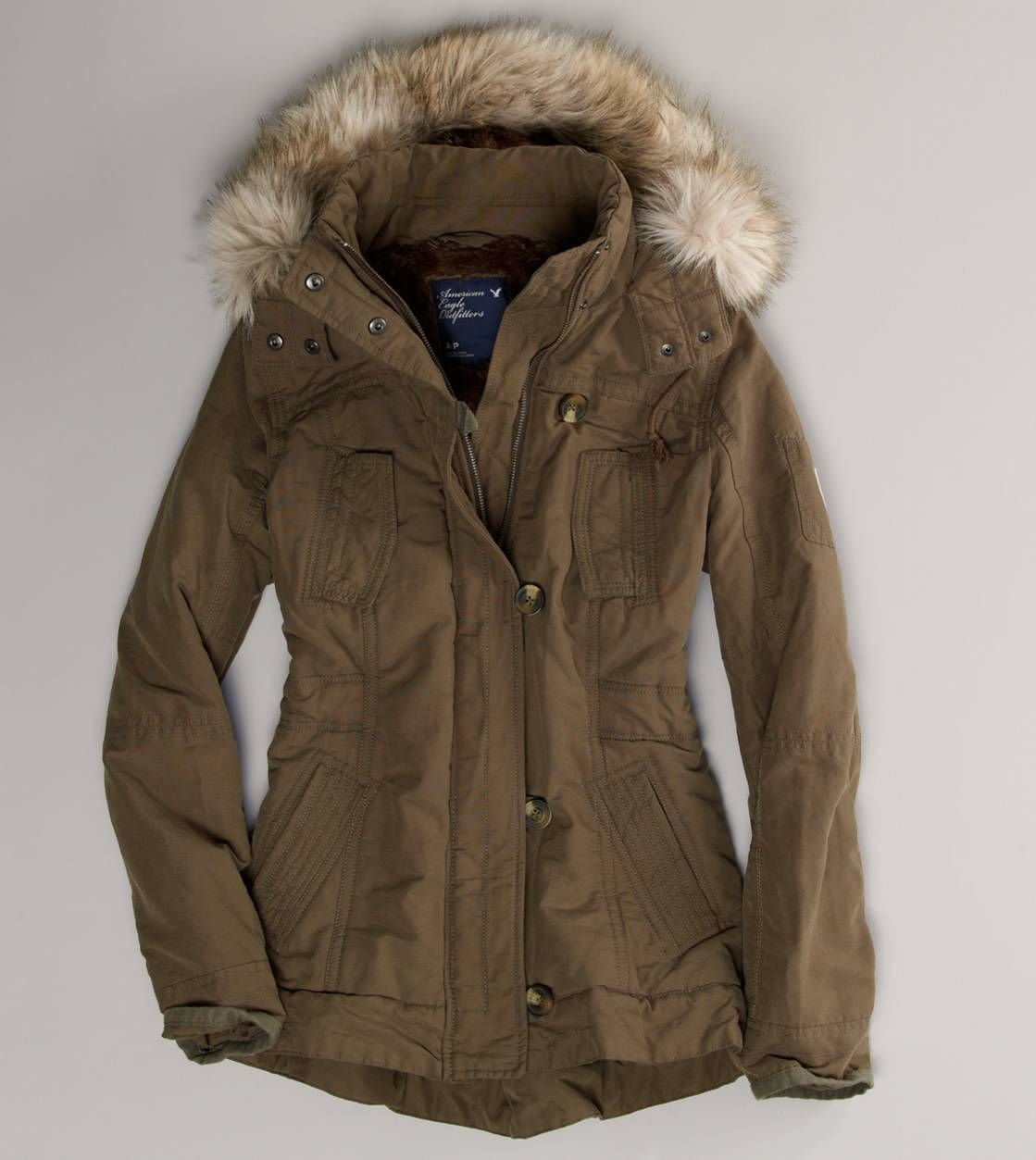 ae military hooded parka | Style | Pinterest | Long winter coats ...