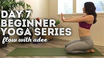 flow with adee  youtube with images  yoga for