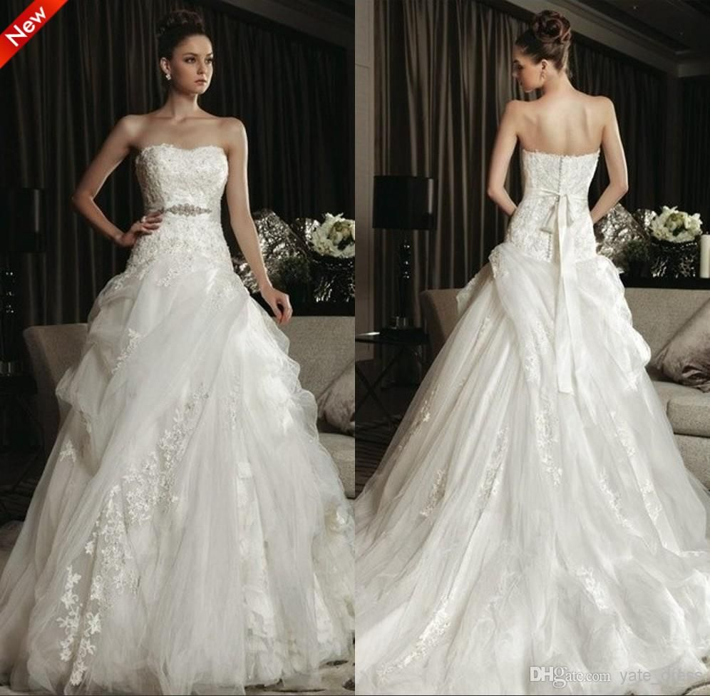 Lightinthebox wedding dresses  Princess Bridal Gown On Sale Elegant Style Strapless Court Train