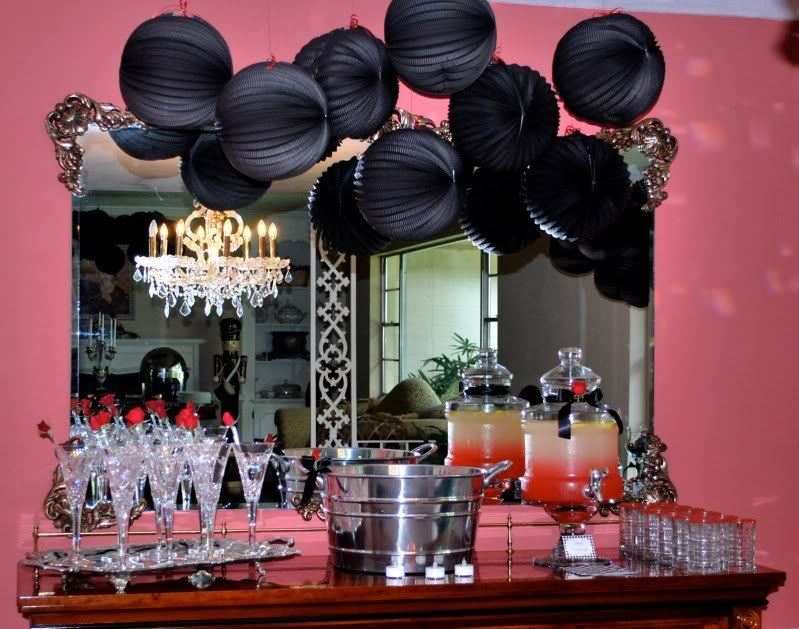 40th birthday party from Karas Party Ideas 40 bday ideas