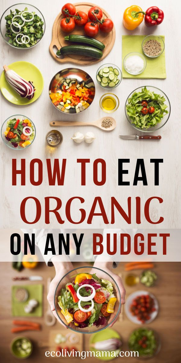 These are my favorite tips for eating organic and healthy food on ANY budget. Real food doesn't have to be expensive. With these 10 ideas to make organic food affordable, anyone can learn how to incorporate organic into their meal plans. #healthyeating #eatorganic #organic #realfood