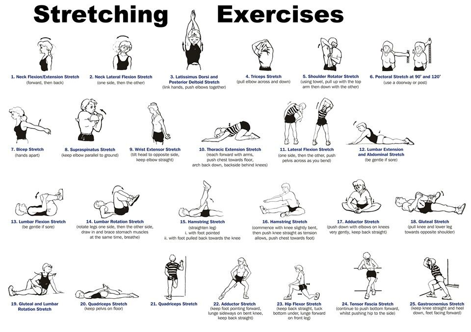 Image result for full body stretches