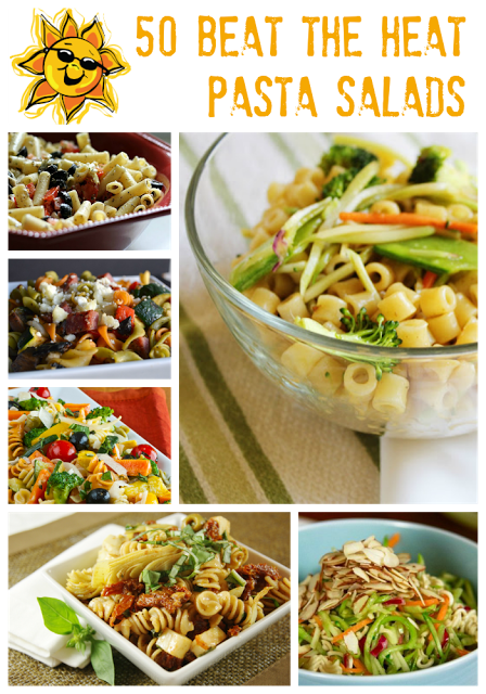 50 Beat The Heat Pasta Salads | MomsTestKitchen.com