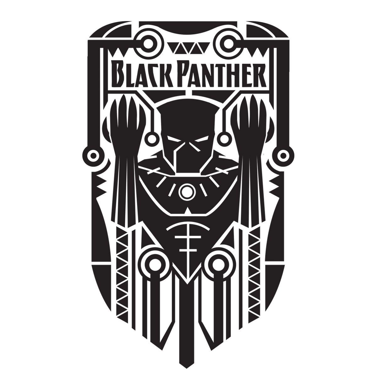 black panther superhero symbol - photo #13