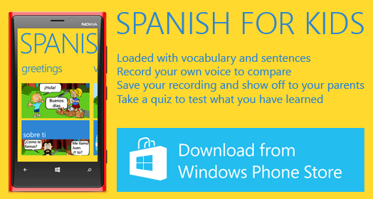 Spanish For Kids App (With images) Spanish lessons for kids