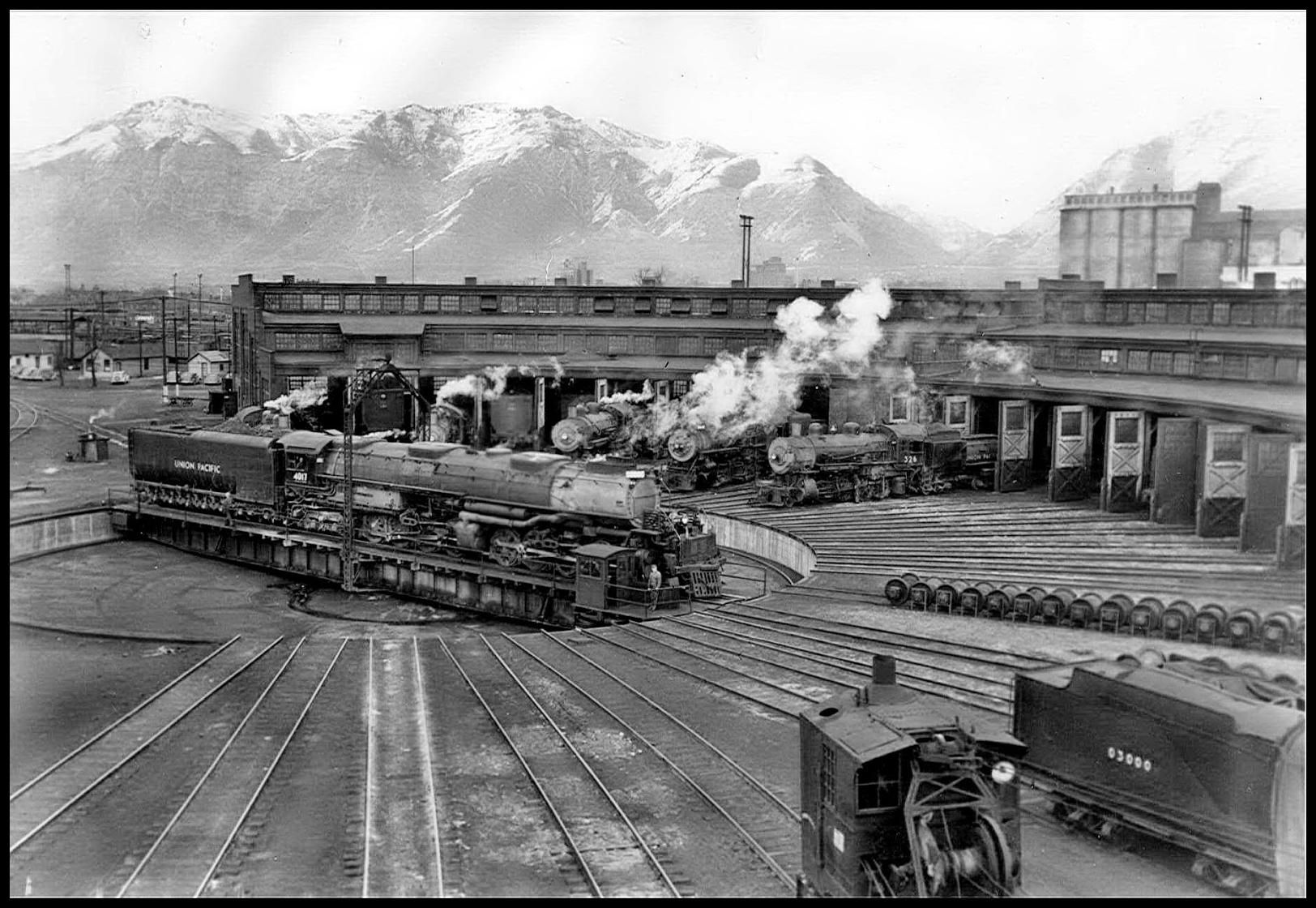 FYI this is a photo of the Union Pacific Station round