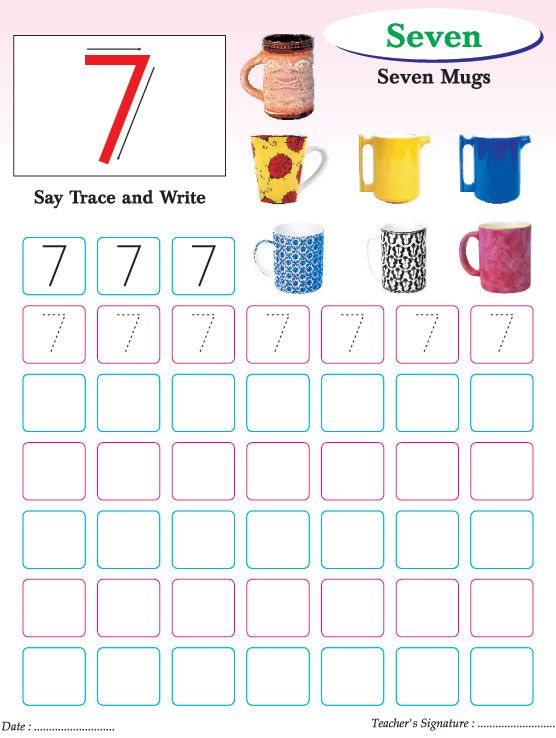 numbers writing practice worksheet 7 download free numbers writing practice worksheet 7 for. Black Bedroom Furniture Sets. Home Design Ideas