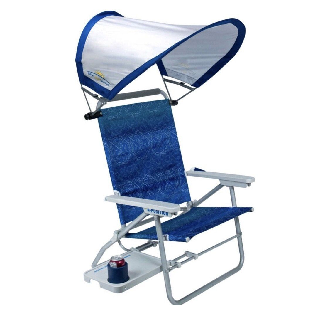 GCI Waterside Big Surf Beach Chair with SunShade Beach
