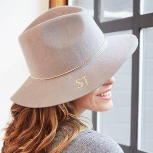 Personalised Wide Brim Fedora Hat - hats  4c2142abfd0
