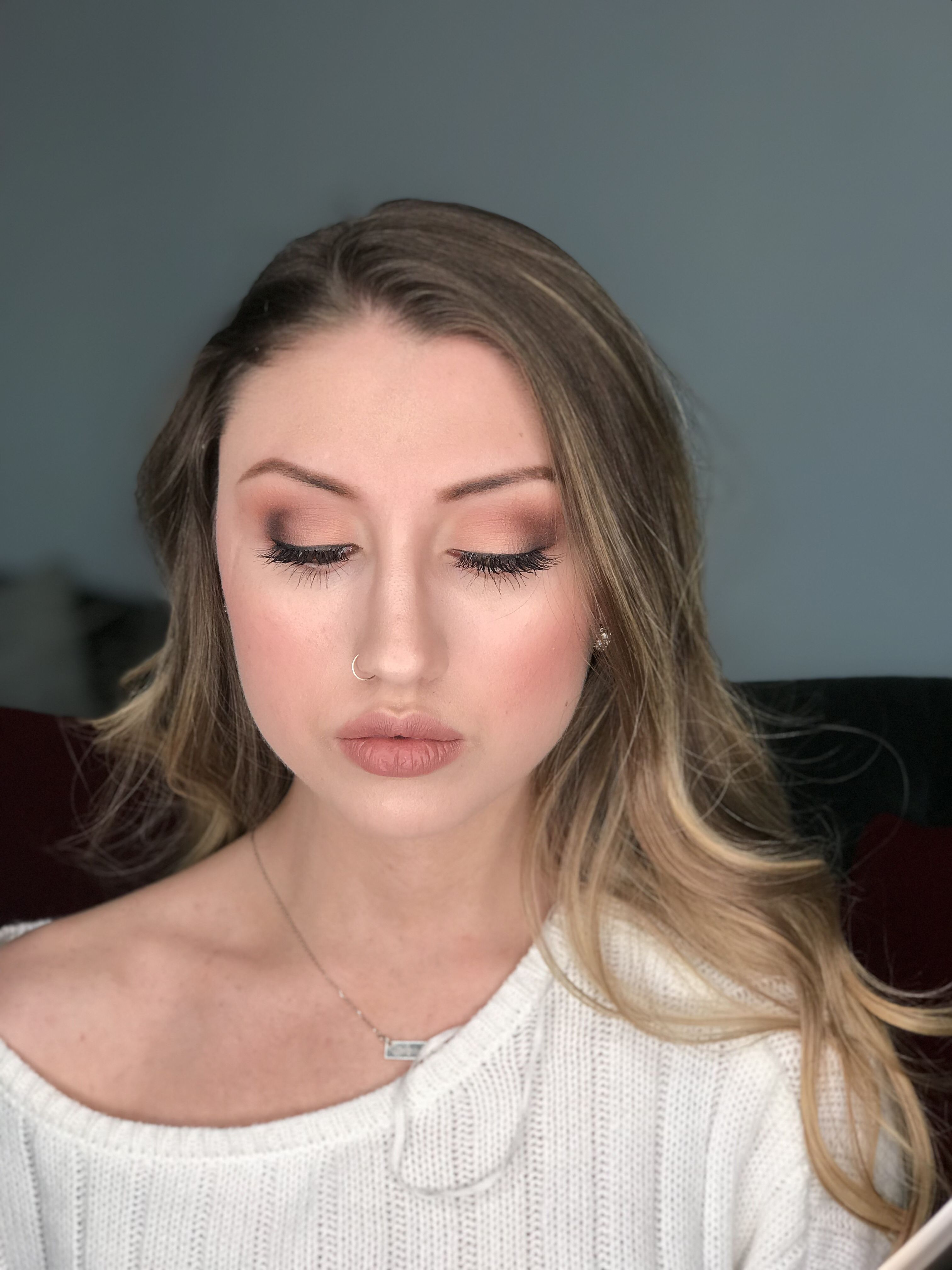 beautiful natural makeup look, great for bridal makeup by