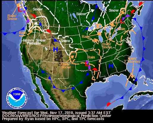 Maps National Weather Map Current Blog With Collection Of Maps - Current weather usa map