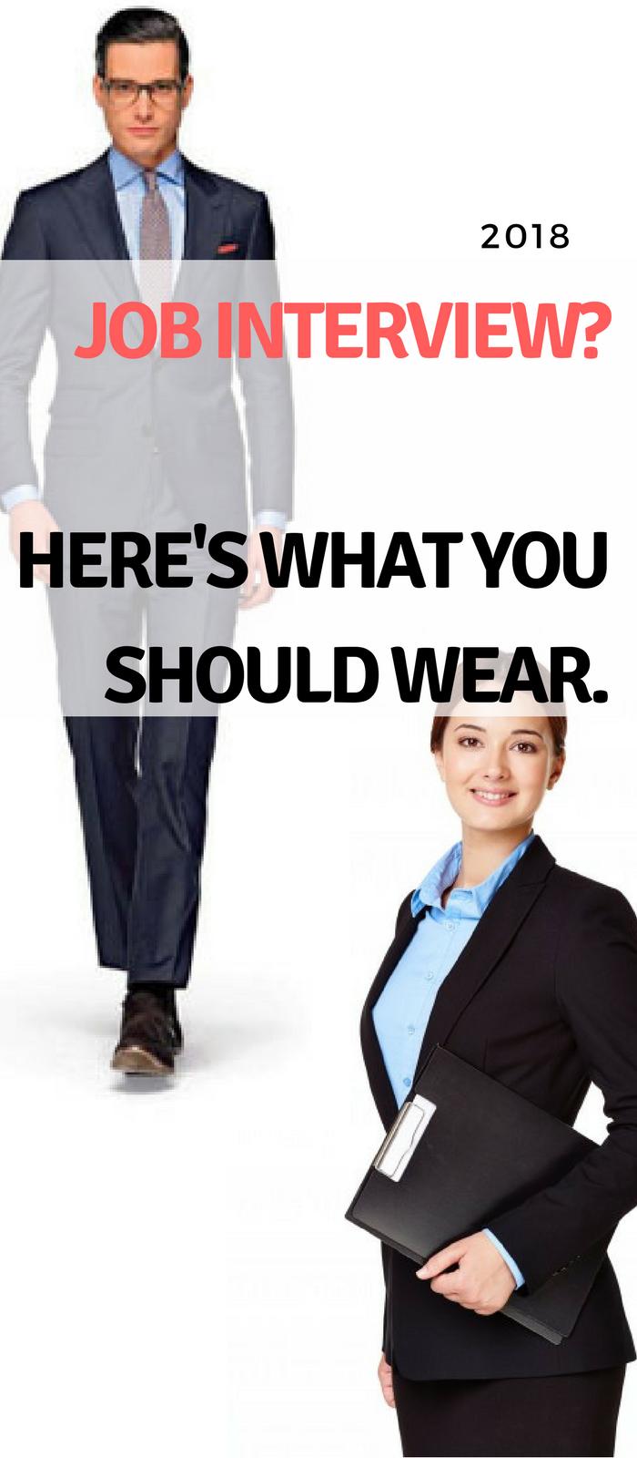 c7ffe77da01d Job interview  Here s what you should wear! www.tuckedtrunks.com