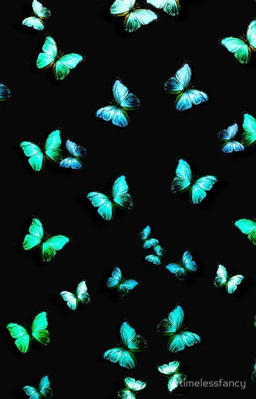 Green Butterflies Iphone Case By Dodi Ballada In 2020 Butterfly Wallpaper Iphone Blue Butterfly Wallpaper Butterfly Wallpaper Backgrounds