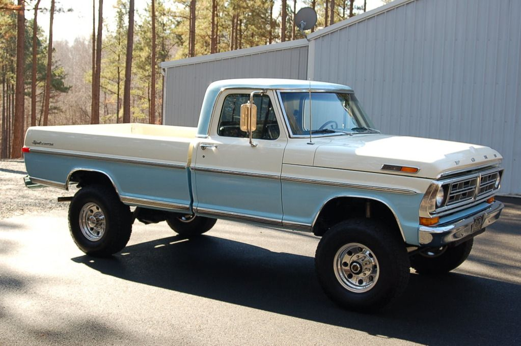 1972 Ford Highboy 4x4 자동차