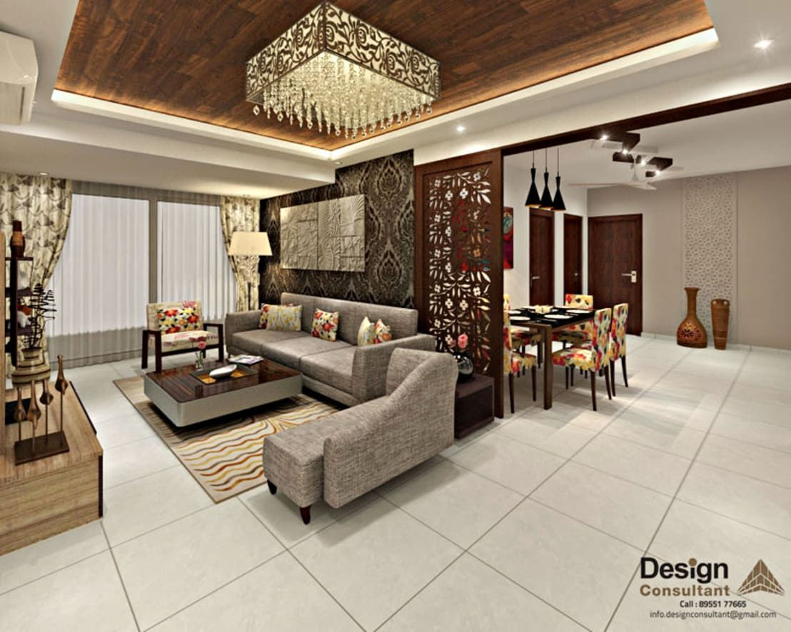3bhk Flat Interior Design And Decorate At Mangalam Grand Vista Vaishali Nagar Jaipur By Design Consultant Indian Living Rooms Flat Interior Design Living Room Sofa Design