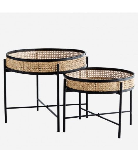 Petite Table Basse En Cannage Table Basse Ronde Table Basse Petite Table Basse Ronde