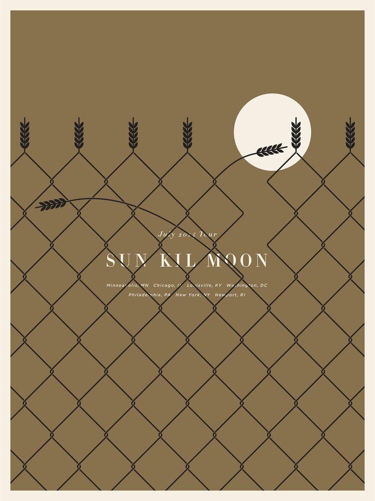 Sun Kil Moon Poster by Jason Munn