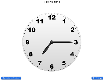 A clock for your interactive whiteboard to teach students ...