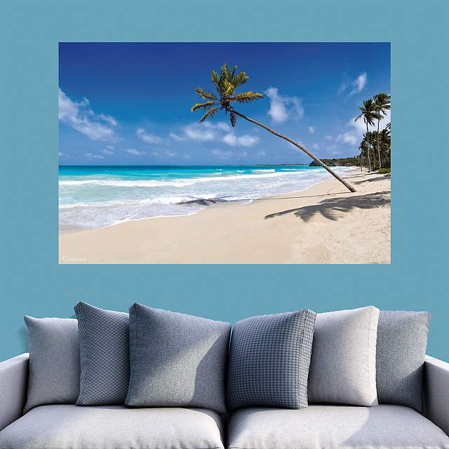 Tropical Beach Mural Beach mural Tropical beaches and Mural wall