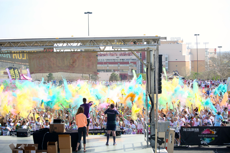 Color Run 2014 at Remington Park!