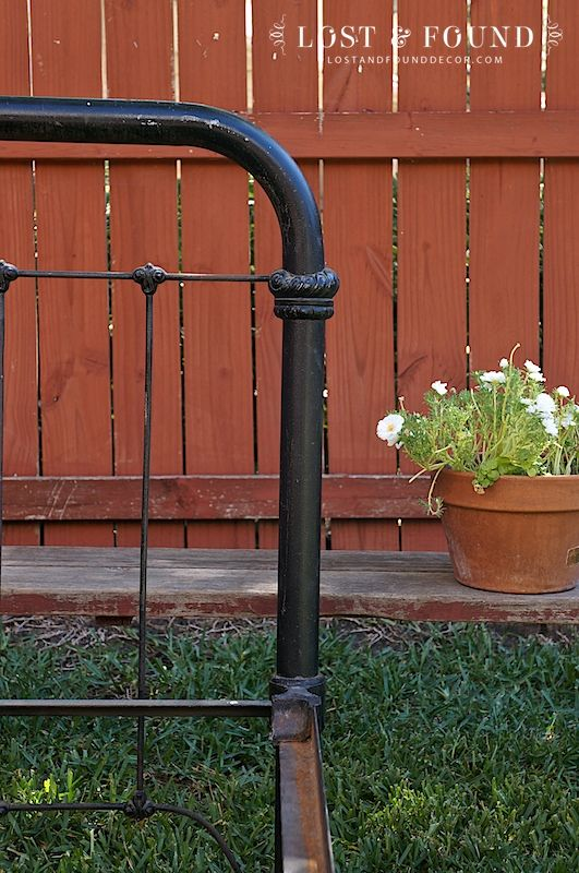 the beauty of an antique iron bed frame cast iron bedsantique