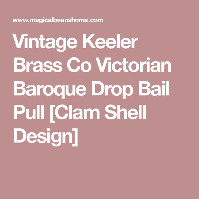 Vintage Bail Pulls For Dressers