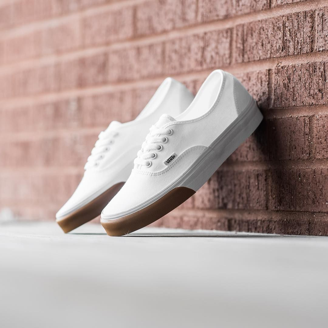 "Vans Gum Bumper Authentic - True White  50 men sizes 7.5-13 Available now  online and at our…"" 4e6d137fd"