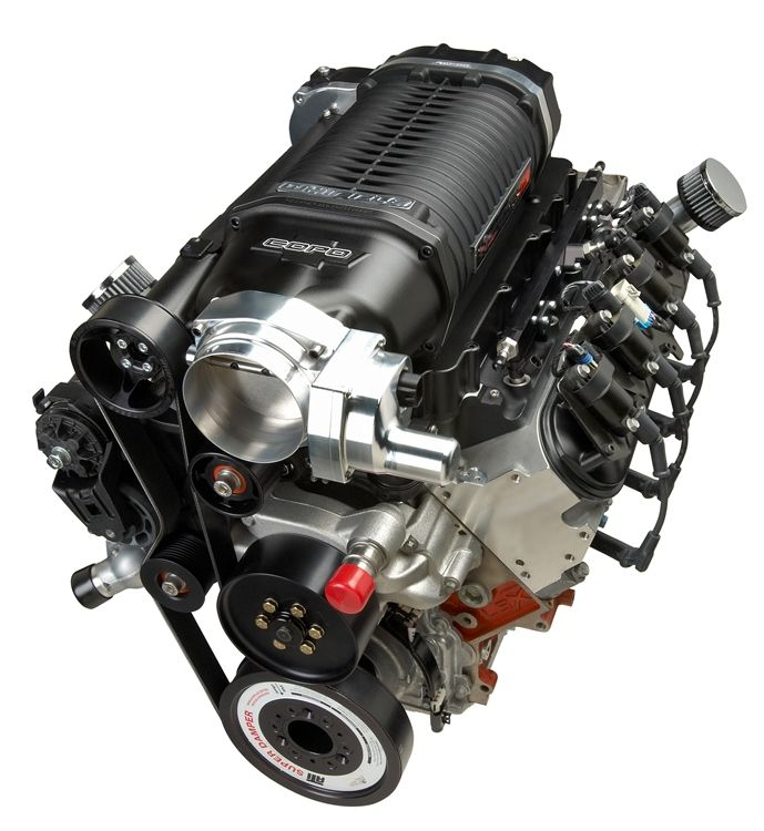 LSX-based 327 (5.3L) V-8 featuring a 4.0L supercharger