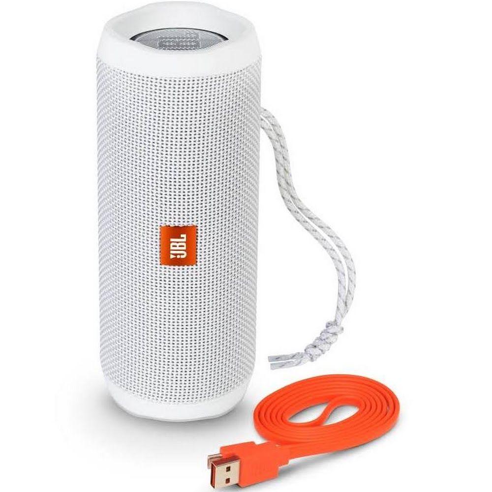 Jbl Flip 4 Portable Speaker Wireless White Google Express
