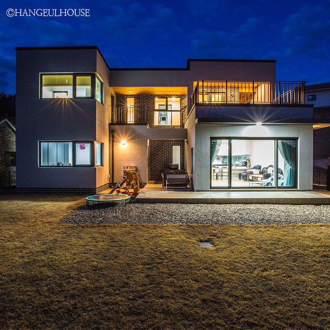 경기도 양평 야경이 아름다운 전원주택 2020 집 스타일 집 집 개조