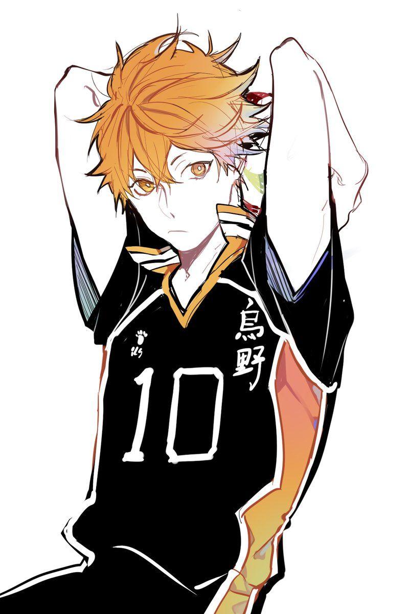 Hinata From Haikyu Anime Pinterest