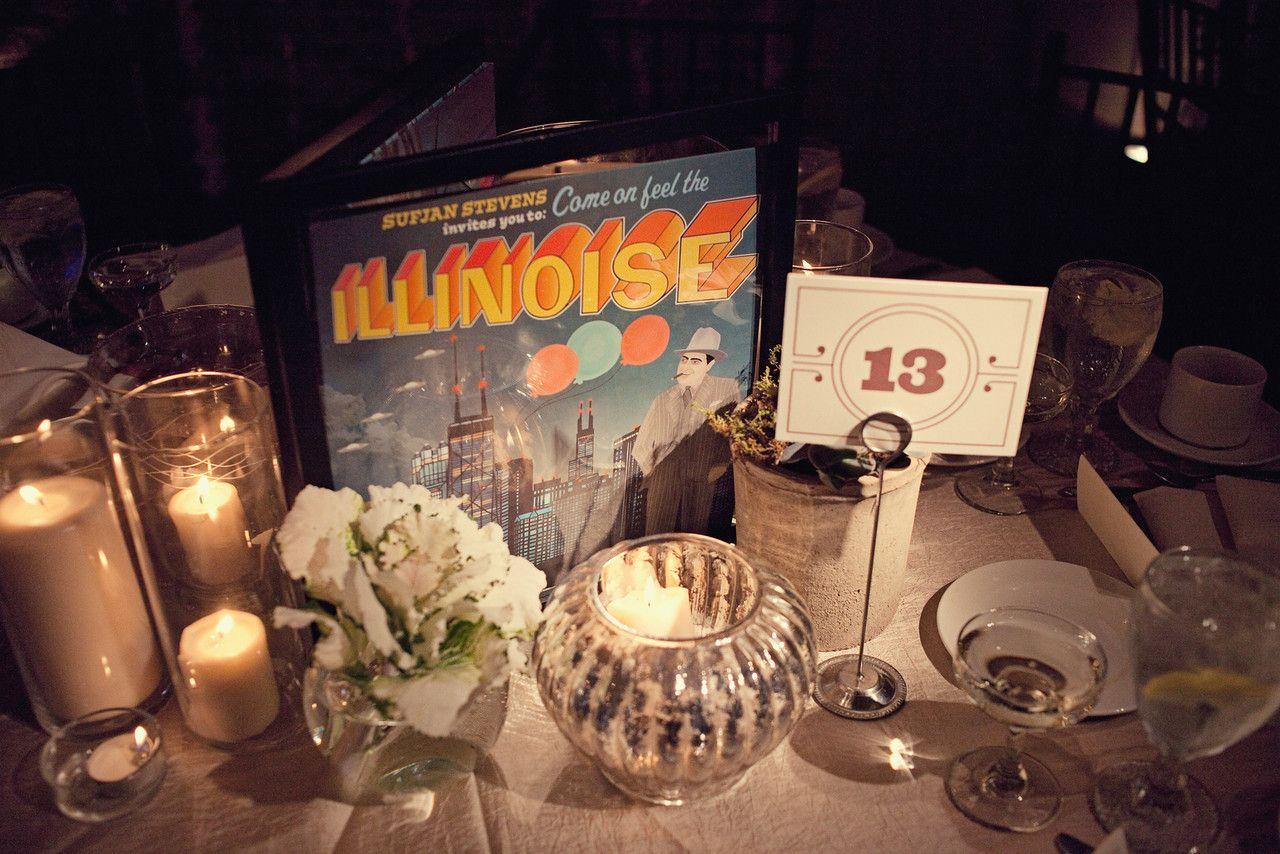 Brooke Courtney Photography Music Themed Wedding Wedding Reception Inspiration Cork Diy