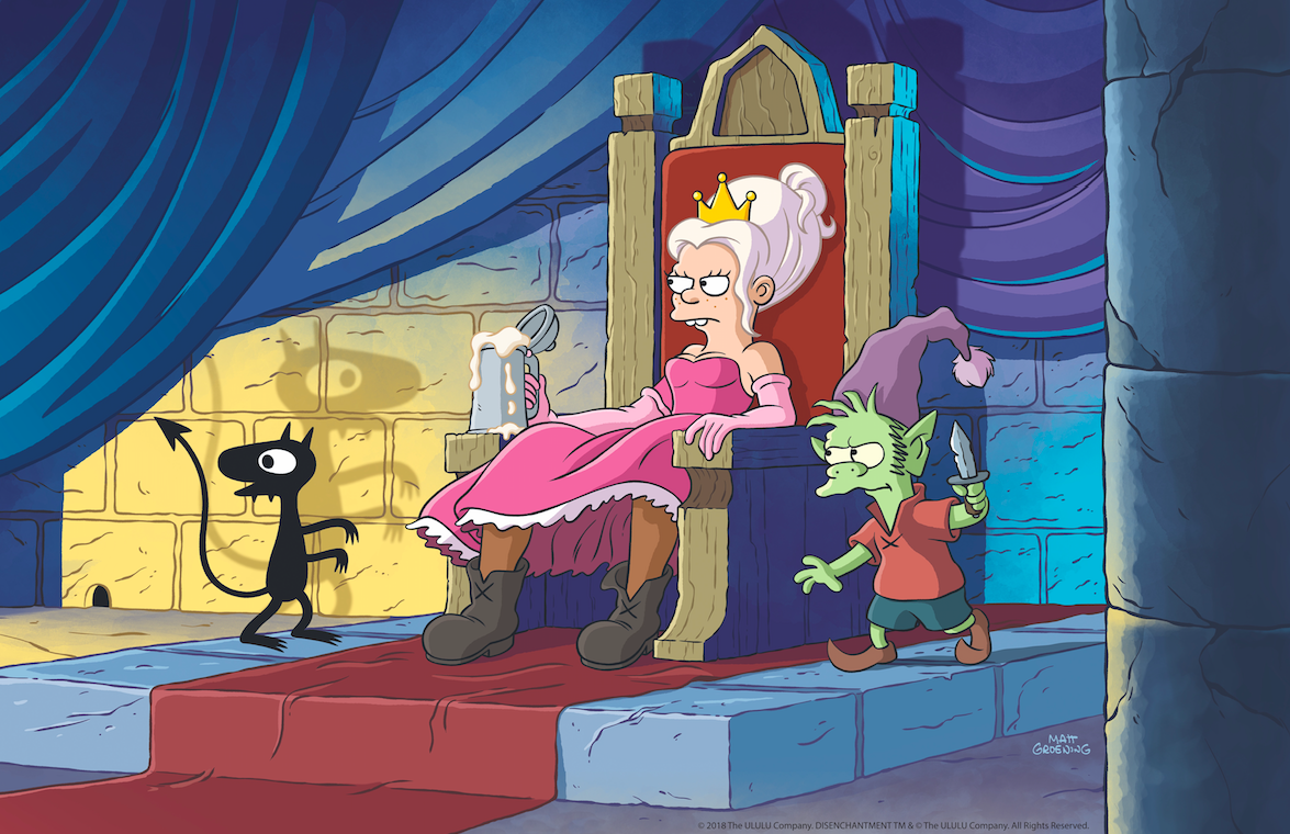 Netflix's Disenchantment: What We Learned About Matt Groening's New Show At Comic-Con 2018 Gaming
