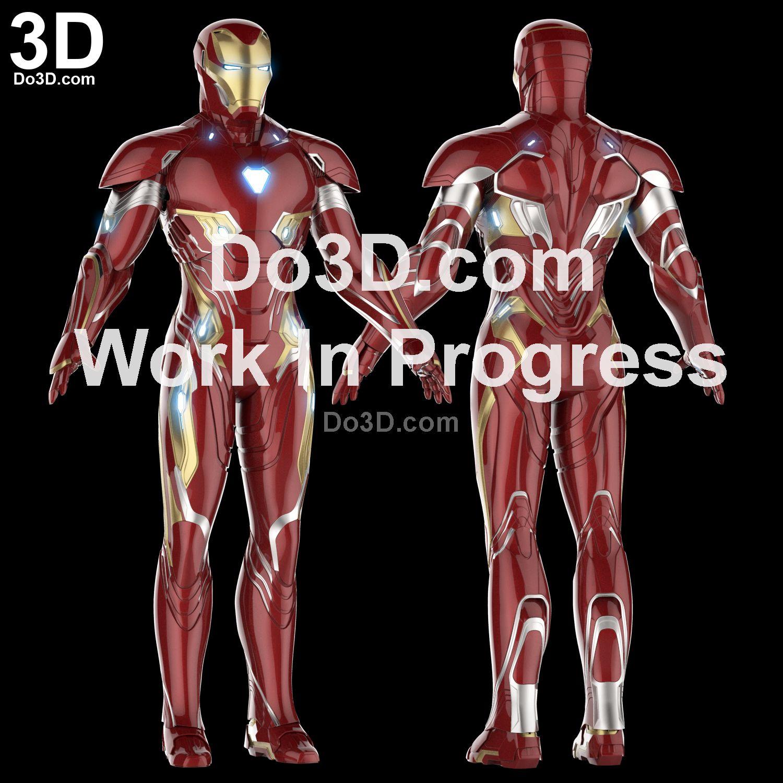 3D Printable Model: Iron Man Mark XLVIII / L Full Body Armor Suit ...