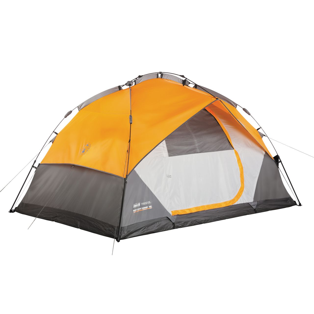 Sparky Camping Gear - Coleman Instant Dome 5 Person Polyester Tent w/ Steel Poles, $149.95 (http://sparkycampinggear.com/coleman-instant-dome-5-person-polyester-tent-w-steel-poles/)