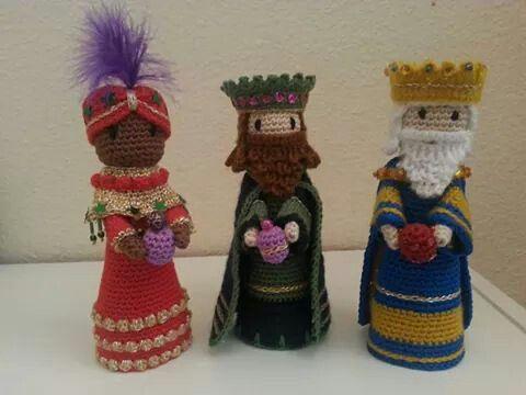 Amigurumi Navidad Nacimiento : Los reyes magos ideas navidad amigurumi crochet