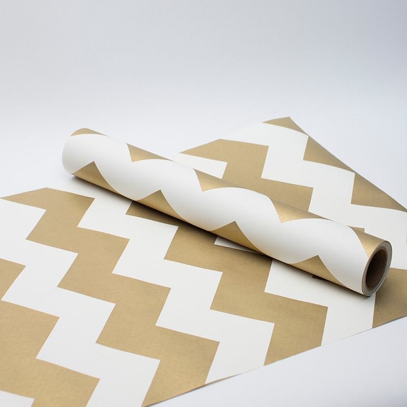 Perfect Gold Chevron Table Runner | What A Great Way To Dress Up The Table Top.