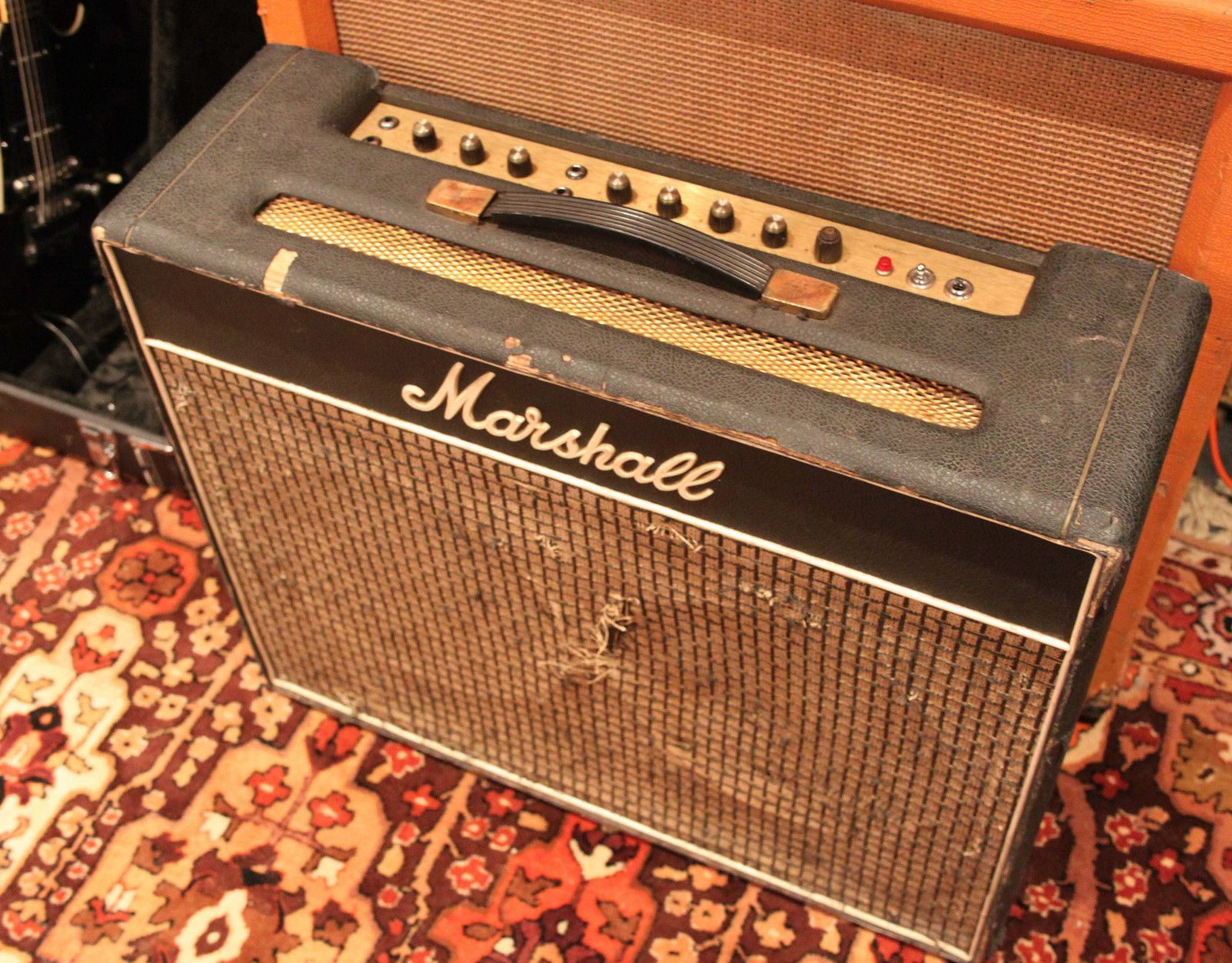 vintage 1971 marshall artiste 50w 2040 jmp 2x12 amplifier combo w reverb pedal ebay [ 1600 x 1251 Pixel ]
