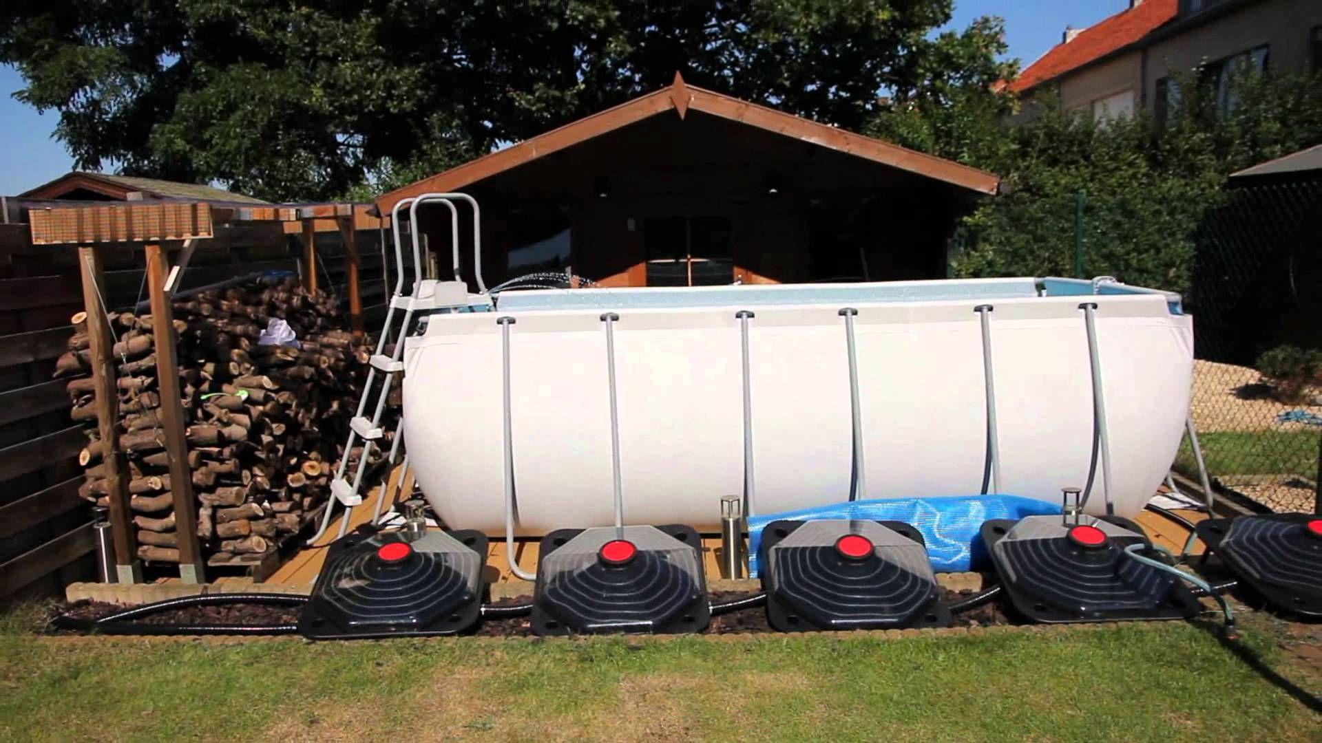Bestway Metal Frame Pool Homemade Fountain Skimmer
