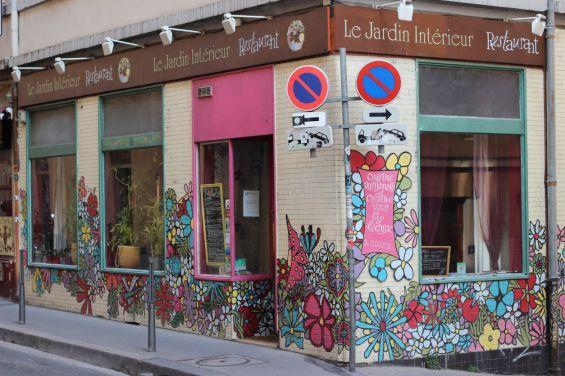 Restaurant Jardin Intérieur Lyon Croix Rousse - Vegan - bio - local ...